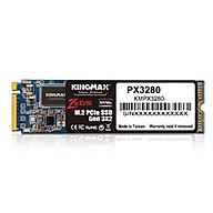 Ổ cứng SSD KINGMAX Zeus 256GB PX3280 NVMe M.2 2280 PCIe Gen 3.0 x2 - Hàng chính hãng thumbnail
