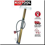 Bơm xe đạp Kiotool nhỏ gọn bơm tay cho xe máy xe đạp ống to chắc chắn thumbnail