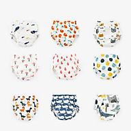 Quần Bỏ Bỉm, Quần Luyện Bỏ Bỉm Thấm Hút Siêu Tốt Cho Bé (Size M 11-13Kg) - Họa Tiết Bé Trai thumbnail