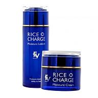 Bộ Kem Dưỡng Trắng & Nước Hoa Hồng tinh chất gạo RICE CHARGE Dưỡng ẩm, dưỡng trắng phục hồi làn da, hàng Nhật chính hãng thumbnail