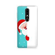 Ốp lưng dẻo cho điện thoại Nokia 6.1 plus X6 - 01171 7938 SANTA01 - Noel - Merry Christmas - Hàng Chính Hãng thumbnail