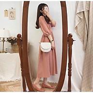 Đầm babydoll hồng xinh xắn thumbnail