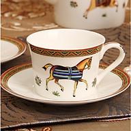 Cốc Cafe đẹp (kèm đĩa, thìa) - cốc sứ cao cấp thumbnail
