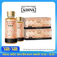 Thực phẩm chức năng Combo 2 hộp Dưỡng chất uống làm đẹp Collagen Adiva GOLD (14 lọ hộp) thumbnail
