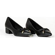 Giày cao gót 3 cm da mờ phối nơ thời trang V013099 thumbnail