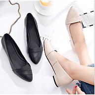 Giày bệt búp bê nữ xếp li xinh xắn hàng VNXK siêu bền-M3 thumbnail