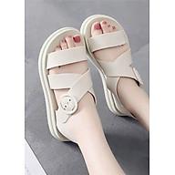 Sandal nữ dép thời trang nhựa dẻo đi mưa thumbnail