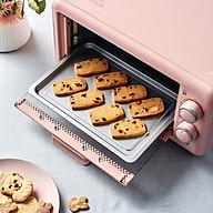 Lò nướng điện đa năng BEAR dung tích 11L phiên bản màu hồng - Hàng nhập khẩu thumbnail