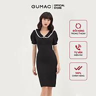 Đầm ôm nữ thiết kế xếp ngực bản eo GUMAC DB331 thumbnail