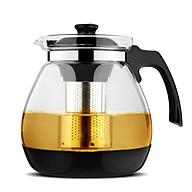 Bình pha trà thủy tinh có lõi lọc inox 304 thumbnail