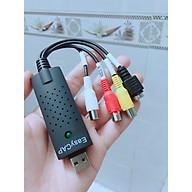 EASYCAP Chuyển từ USB ra AV - Svideo, Lưu hình từ Camera- HÀNG NHẬP KHẨU thumbnail