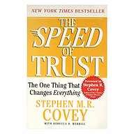 The Speed of Trust The One Thing That Changes Everything Paperback thumbnail