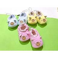 Giày gấu chống trượt cho bé 0-9 tháng BabyOne 0981 thumbnail