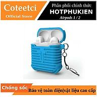 Bao case silicon màu cho tai nghe Apple Airpods 1 2 hiệu Coteetci (siêu chống sốc và chống va đập) - Hàng chính hãng thumbnail