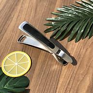 Dụng cụ kẹp gắp đồ nóng DandiHome inox 304 với mút silicon chống trơn trượt thumbnail