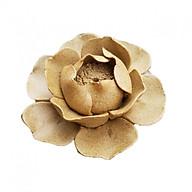 Hoa gốm cao cấp cắm nhang trầm hoặc để trầm nụ DDT06 thumbnail
