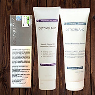 Combo Detox Blanc Sữa Tắm Thải Độc Trắng Da Body Blanc Bath Detox và Mặt nạ thải độc Detox Mask +Tặng kem dưỡng trắng da toàn thân Body BlanC Creme thumbnail