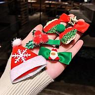 Set 5 Kẹp Tóc Noel Đáng Yêu Cho Bé - Mẫu Ngẫu Nhiên thumbnail