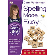 Carol Vorderman Spelling Made Easy Ages 8-9 Key Stage 2 thumbnail
