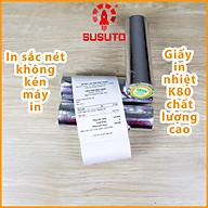 Cuộn giấy in nhiệt K80 (sử dụng cho máy in hóa đơn khổ 80) - Hàng chính hãng thumbnail