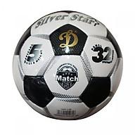 Quả bóng đá động lực UHV 2.95 TENTADA Bạc size 5 (tặng kèm lưới đựng bóng+kim bơm bóng) thumbnail