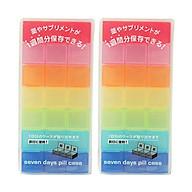 Hộp Đựng Thuốc Nhỏ Gọn, Tiện Dụng - Nội Địa Nhật Bản thumbnail