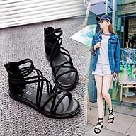 Sandal Nữ Chiến Binh Đế Thấp Dây Chéo Cá Tính MBS183 - Mery Shoes thumbnail
