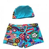 Set Quần + Mũ Bơi Bé Trai Free Size (họa tiết ngẫu nhiên) thumbnail