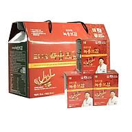 Thực phẩm bảo vệ sức khỏe Chiết xuất nhung hươu và hồng sâm Hàn Quốc 6 năm tuổi Chong Kun Dang 70ml x 30 gói thumbnail
