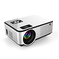 C9 LED Mini Projector 1280 720P Full HD Projector Video Beamer Home Theater Support HD USB AV VGA AUX Video Player thumbnail