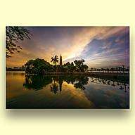 Tranh Treo Tường Canvas Phong Cảnh Chùa Trấn Quốc Hồ Tây Hà Nội - Công Nghệ In UV Nhật Bản - Màu Sắc Đẹp Rõ Nét thumbnail