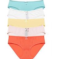Bộ 5 quần lót nữ basic Comfort Modal MILEY LINGERIE - Màu ngẫu nhiên thumbnail