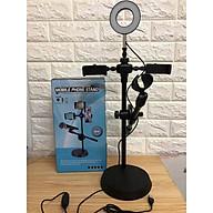 Bộ đèn led livestream 4in1, đèn led chuyên đổi màu thumbnail