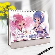 Lịch anime 2020 Re Zero Bắt đầu lại ở thế giới khác tặng ảnh Vcone thumbnail