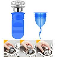 Silicone thoát sàn chống mùi, ngăn côn trùng vi khuẩn chui lên lắp thoát sàn Nhà tắm, ống xả nước máy giặt, chậu rửa mặt - Phiên bản nâng cấp thế hệ 2 - Model S121 - Xuất xứ Hàn Quốc thumbnail