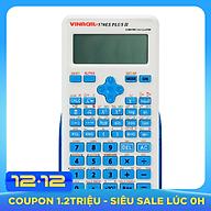 Máy Tính Học Sinh Vinacal 570ES Plus II - Xanh dương - Hàng Chính Hãng thumbnail
