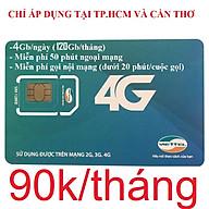 Sim 4G Viettel V120Z Đầu số 03 - Đăng ký đúng chủ (Chỉ 90k tháng Có 4Gb ngày, Gọi nội mạng miễn phí tất cả cuộc gọi dưới 20 phút, ngoại mạng 50 phút miễn phí). Chỉ áp dụng tại TPHCM và Cần Thơ thumbnail