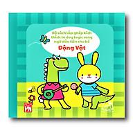 Sách vải song ngữ Anh - Việt - Mix & match - Động vật ( Từ 1-3 tuổi) thumbnail