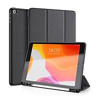 Bao da chống sốc kèm khay đựng bút cho Apple iPad Gen 7 10.2 inch thương hiệu DUX DUCIS Domo Series cao cấp - Hàng nhập khẩu. thumbnail