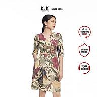 Đầm Công Sở Nữ Tay Lỡ K&K Fashion KK106-09 Dáng Chữ A thumbnail