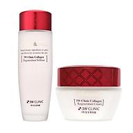Combo dưỡng trắng da chống lão hoá 3W Clinic (Collgen Regeneration Softener 150ml + Collagen Regeneration Cream 60ml) thumbnail