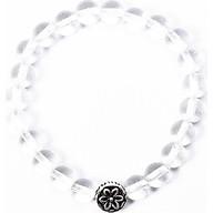 Vòng tay cho bé đá thạch anh trắng charm bạc mệnh thủy, kim - Ngọc Quý Gemstones thumbnail