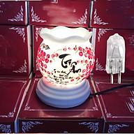 Đèn tinh dầu điện chữ Tri Ân quà tặng 20 11 tặng kèm 1 bóng đèn thumbnail