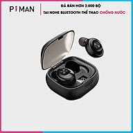 Tai Nghe Bluetooth 5.0 không dây nhét tai mini thể thao Gaming Chống Nước IPX5 - Đèn LED hiển thị Phần Trăm Pin - Hàng chính hãng - TNBT04 thumbnail