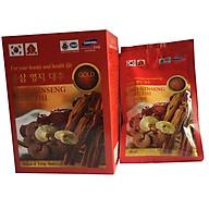 10 gói nước hồng sâm Linh chi Táo đỏ Hàn Quốc-Red Ginseng Lingzhi Jujube Gold 80ml, nước sâm bịch, nước sâm, PP Sâm Yến Thái An thumbnail