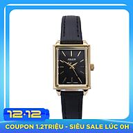 Đồng Hồ Nữ Dây Da Julius JA-787B (24 x 19 mm) - Đen thumbnail