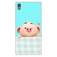 Ốp lưng dẻo cho điện thoại SONY Z5 _Pig Cute 07 thumbnail