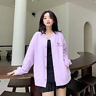 Áo Khoác Cadigan Nam Nữ Form Rộng Thêu Chữ Ngực MIF CLUB LV51 Phong Cách Mới thumbnail