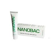 Kem NANOBAC tuýp 20g, làm sạch, tái tạo, ngăn ngừa sẹo. Kích thích tái tạo da trong các trường hợp da yếu, tổn thương, da bị mụn( hàng chính hãng) thumbnail
