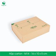 M14 - 16x10x5 cm - 25 Thùng hộp carton thumbnail